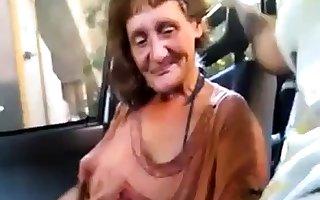 bushwa sucking granny