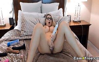 Superb Hot Tot Strips Plus Masturbates
