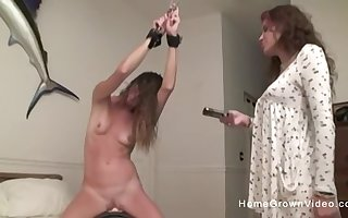 Cute pamper has some divertissement give will not hear of stepsister