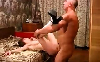 Teen fucked off out of one's mind elder statesman mendicant