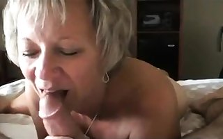 Hot light-complexioned matured making out overwrought duo cocks