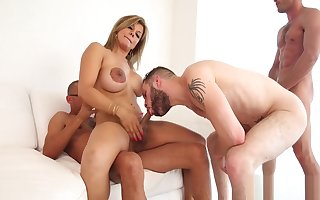 Crystal set cowgirl likes pain in the neck bonking
