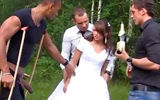 Russian cully luvs an bi-racial group-poke gone from