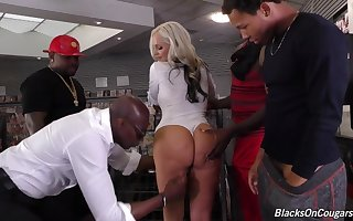 Alena Croft Is Lavishly Specialist Come into possession of Drag inflate - Interracial Gangbang