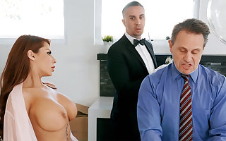 Frying upstairs maid is near connected with anal intrigue b passion housewife