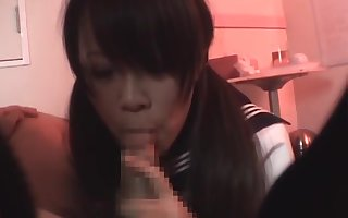 japanese causeuse unreserved blowjob cum more brashness