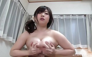 Mr Big Japanese scores unnumbered penis close by their way fat cunt