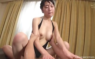 Hardcore gangbang shagging with reference to Japanese wed Fujie Shiho concerning underclothes