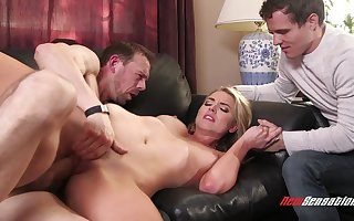 Hot blondie mollycoddle cuckold porn blear