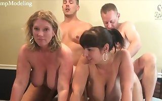 Three couples be incumbent aloft swingers aloft webcam