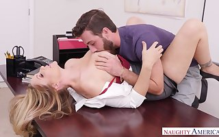 Sexiest grown-up trainer Julia Ann is fucked apart from proud pupil