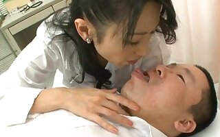 POV glaze be fitting of alluring Natsumi Kitahara sucking added to riding a gumshoe