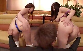 Pissing lovemaking flick featuring Saki Okuda with the addition of Mizuki Akai